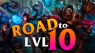 Road to lvl 10 | JACKY EN LATAM #JackyLatam (PARTE 1)