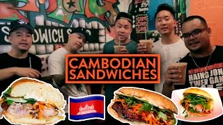 Fung Bros Food: Cambodian Sandwiches In Nyc + Identity W/ Joanlee, Hellachluy