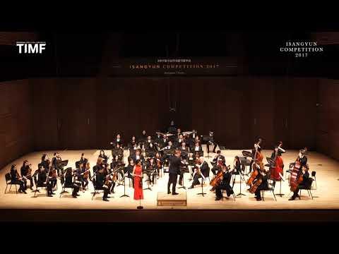 ISANGYUN COMPETITION 2017 - FINAL ROUND (Nancy Zhou)