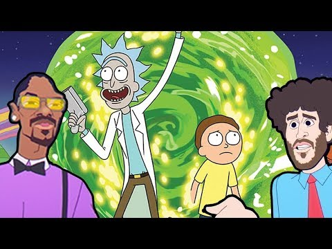 Rick and Morty - Professional Rapper ft. Lil Dicky, Snoop Dogg (Mashup song)