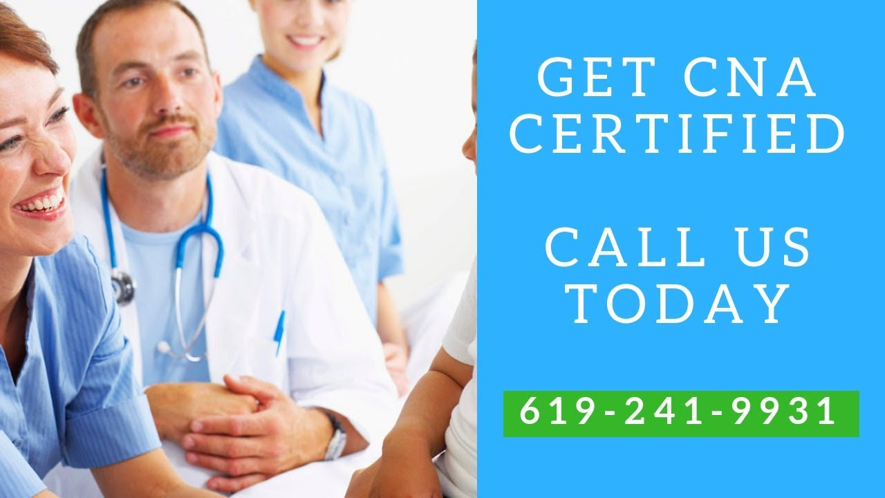 Get Cna Certified In Spring Valley Ca Finish Our Spring Valley
