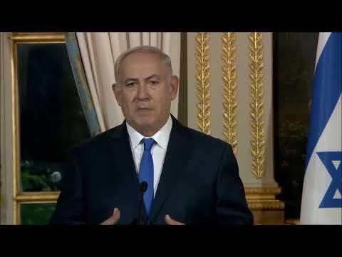 Netanyahu & Macron Press Conference 12/10/17
