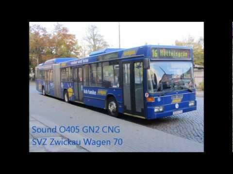 Sound MB O 405 GN2 CNG SVZ Zwickau Wagen 70