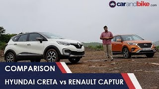 Hyundai Creta vs Renault Captur: Comparison Review