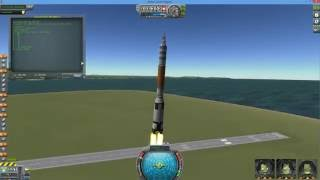 Kerbal Space Program 1.1.3 - kOS Automated Launch