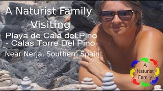Download A Naturist Family # 23 - Visiting Playa de Cala del Pino, Nerja, Spain