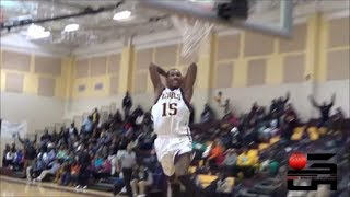 John Adams Wing Devon Robinson Has Insane Bounce, Best In-Game Dunker In NEO?!?!
