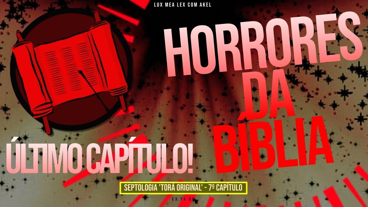 📜 HORRORES da #BÍBLIA | De MENSTRUAÇÃO a HEMORRÓIDA | SEPTOLOGIA 7