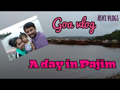 Goa vlog #8|Cruise in Pajim|Mall de Goa|A day in Pajim|Asvivlogs