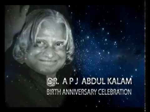 Celebrating People's President Dr. APJ Abdul Kalam's birth anniversary - Part 1