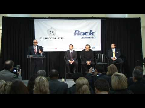 Rock Ventures Welcomes Chrysler to New Downtown Detroit | Quicken Loans Events