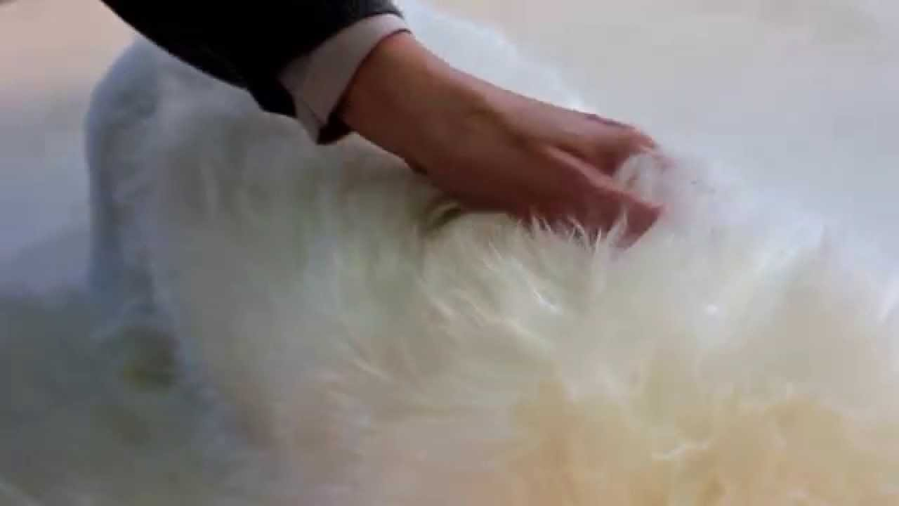 Allotapis Tapis En Veritable Peau De Mouton Youtube