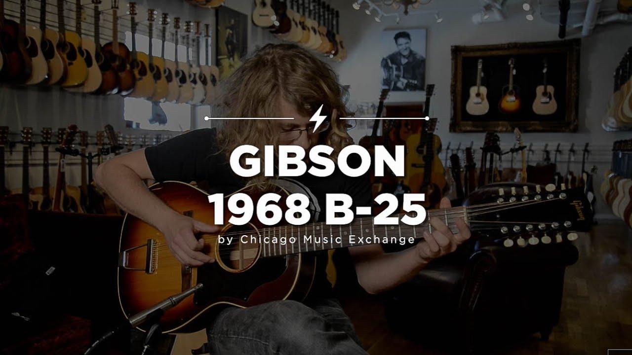 Quick Riffs 1968 Gibson B 25 12 String Acoustic Guitar