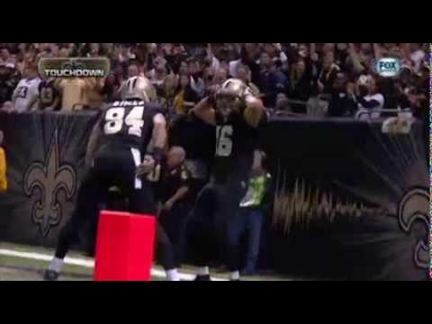 Lance Moore does Key & Peele's Hingle McCringleberry touchdown dance