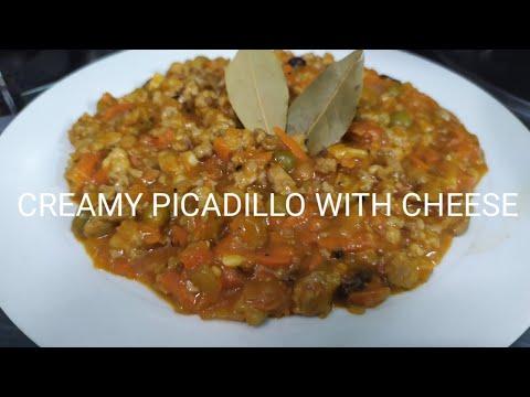 #panlasangpinoy-#easyrecipes-creamy-picadillo-with-cheese