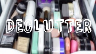 MAKEUP DECLUTTER- FOUNDATION, POWDER & MORE