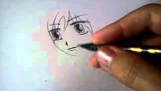 Как легко научиться рисовать аниме(Меня зовут Диана.Я снила это видео,чтоб люди,которые не умеют рисовать аниме , научились., 2012-06-27T09:34:43.000Z)