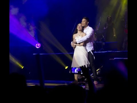 """""""Rewrite the stars"""" dance number by the hot sharky love team Kisses Delavin and Tony Labrusca"""