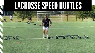 Lacrosse Speed and Agility: Speed Hurtles