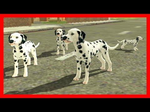 СИМУЛЯТОР СОБАКИ #5 СОБАКА родила ЩЕНКА развлекательное в Dog Sim