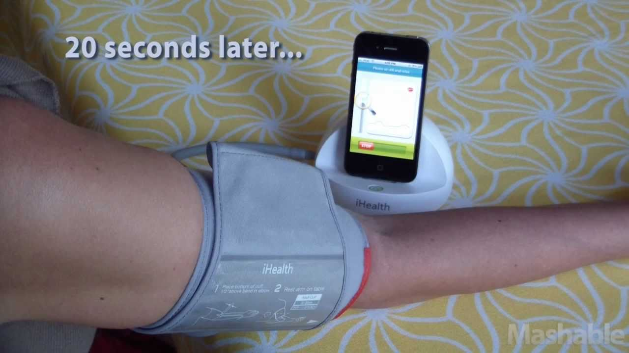 Withings and iHealth Blood Pressure Monitors for iPhone ...