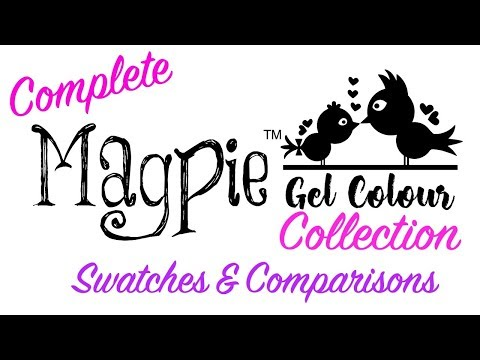 *MAGPIE GEL COLOUR* ENTIRE COLLECTION - LIVE SWATCHES & COMPARISONS