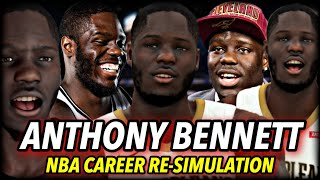 What If Anthony Bennett WASN'T A BUST? | Proving Everybody Wrong | NBA 2K20 Career Re-Simulation