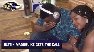 Inside Justin Madubuike's Emotional Draft Call With Eric DeCosta  | Baltimore Ravens