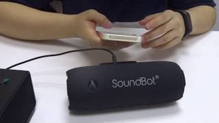 How to setup SoundBot SB343 bluetooth receiver for home and car audio stereo speakers