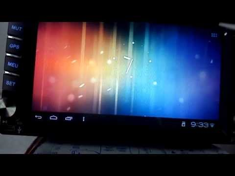 Android 4.0 OS Car Player -- Operating System Demo