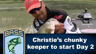 Jason Christie lands a Sam Rayburn keeper