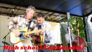 Jake Calypso & his Red Hot -High School Confidential - ( Jerry Lee Lewis ) -