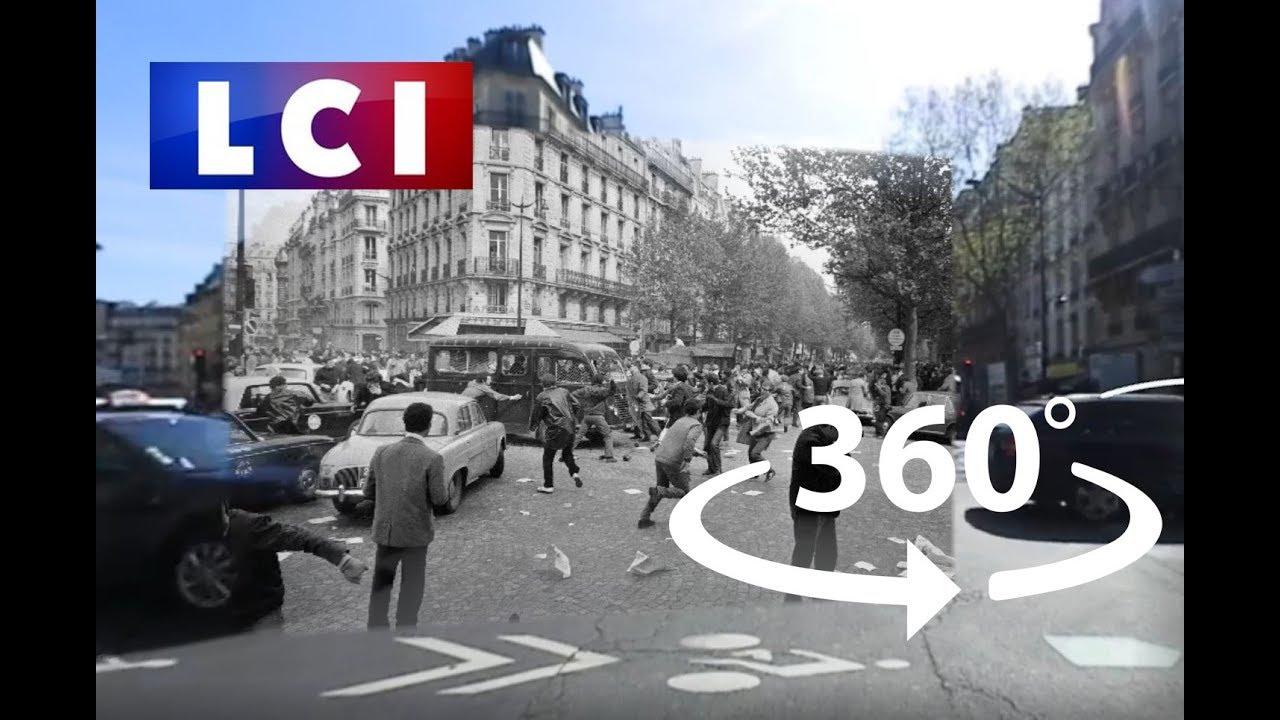 VIDÉ0 360 - Dans le Paris de mai 68