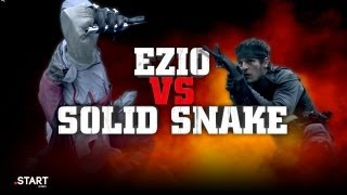 Assassin's Creed's Ezio vs Metal Gear's Solid Snake in Real Life - Ultimate Fan Fights Ep. 4