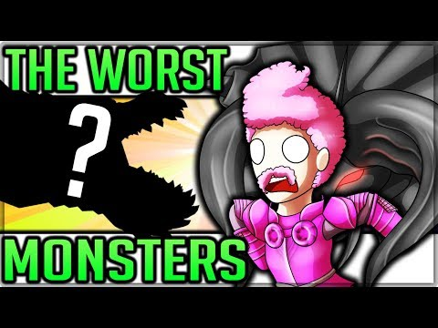 The Worst Hardest Monsters in Monster Hunter World! (Theory/Discussion/Monster Hunter Top 5)