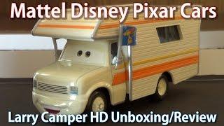 Mattel Disney Pixar Cars: Larry Camper DELUXE Diecast HD Unboxing/Review