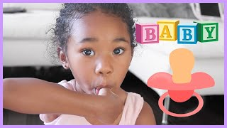 Sefari Transforms Into A Baby | Pretend Play
