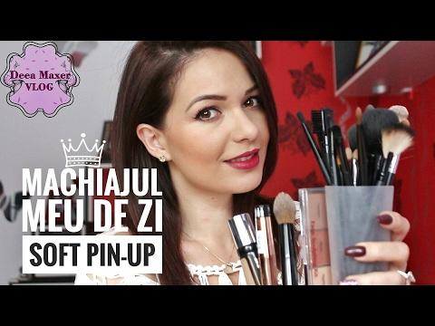 Machiaj de zi / Pin-up rapid / Deea Maxer Video Blog