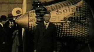 "silent film newsreel - ""Lindbergh"