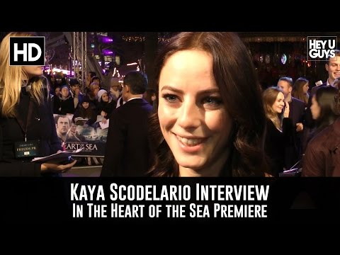 Kaya Scodelario Premiere Interview - In the Heart of the Sea