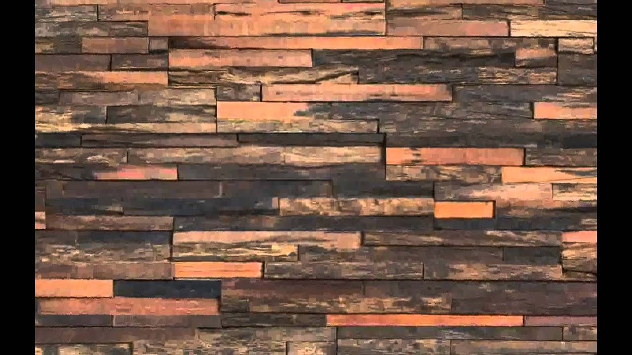 Decorative Wall Panels Wood - YouTube
