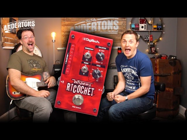 Digitech Ricochet Pedal - Its a Whammy Jim, but not as we know it!