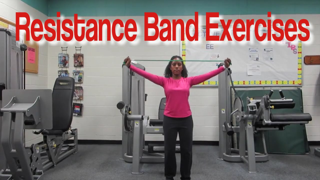 picture relating to Printable Resistance Band Exercises for Seniors referred to as Resistance Band Workouts for Seniors
