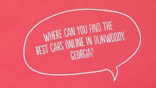 Dunwoody Georgia Best Car Loans Online with Bad Credit