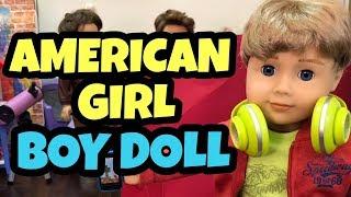 New American Girl Boy Doll - Help Me Name Him