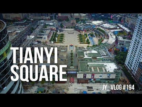 TIANYI SQUARE, Ningbo China