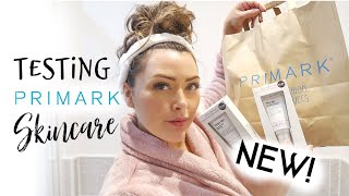 TRYING NEW PRIMARK SKINCARE RANGE FOR THE FIRST TIME Ash Mama Reid