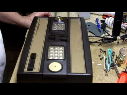 Complete breakdown of Intellivision I and repair