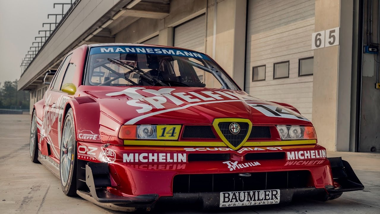 Meet The Demon Alfa Romeo 155 Dtm Itc 1996 Davide Cironi Drive Experience Subs