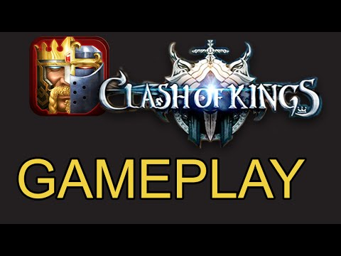 CLASH OF KINGS Gameplay Video 2016 And First Look On IOS/Android